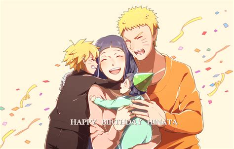 Happy Birthday Hinata Hd Wallpaper