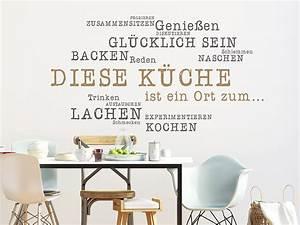 Sprüche Für Die Küche : wandtattoo diese k che ist ein ort zum ~ Watch28wear.com Haus und Dekorationen