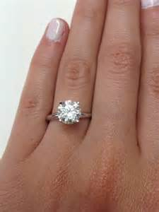 3 5 carat engagement ring 3 carat ring price