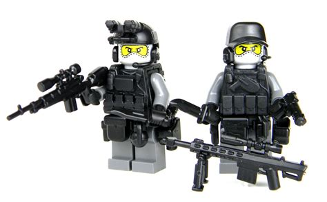 Urban Sniper Team Custom Army Soldiers (sku59) Made With