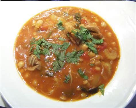 la cuisine pied noir chorba la recette algérienne en images
