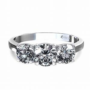 engagement rings three average engagement ring cost stones With wedding ring prices average