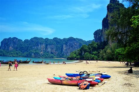 West Railay Beach Thailand Box Of Photos