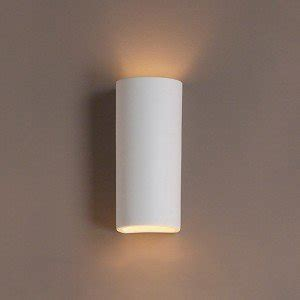 5 inch classic cylinder ceramic wall sconce indoor lighting fixture