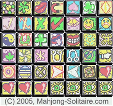 Mahjong Solitaire Tiles by Index Of Mahjong Mahjongg Game