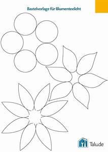 Blumen Basteln Vorlage : teelichthalter aus papier basteln 4 bastelanleitungen ~ Frokenaadalensverden.com Haus und Dekorationen