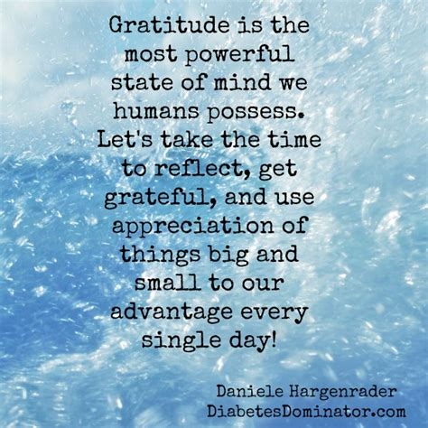 Gratitude Meme - how to sustain motivation diabetes dominator by daniele hargenrader