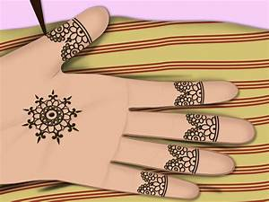 Henna Designs Easy For Kids Step By Step | makedes.com