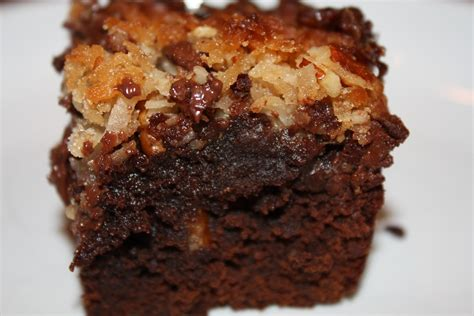 german chocolate cake brownies desserts required