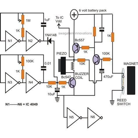 How Build Battery Operated Window Door Alarms