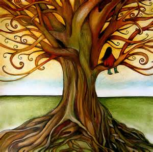 the infinite tree print by claudiatremblay on etsy