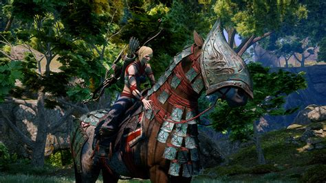 dragon inquisition age qunari dlc horse pack armour spoils dai dragonage spawned disc vg247 does stealthily released themed inquistion goty