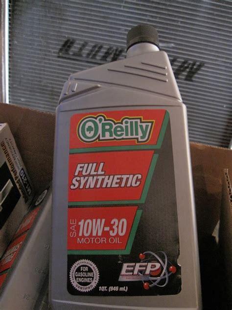 oreilly full synthetic motor oil svtperformancecom
