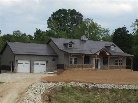 barn wood wall post frame homes burdette builders inc