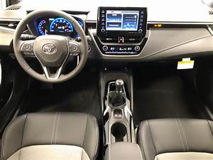 New 2020 Toyota Corolla Hatchback Xse Manual 4dr Car In