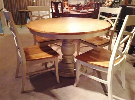 kitchen dining table 52 pedestal kitchen table sets jofran topsail