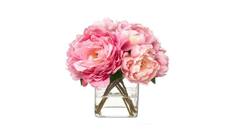 home interiors gifts diane pink peonies bouquet buy at luxdeco