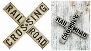 DIY Vintage Railroad Sign Knick of Time