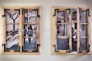Alte Fensterrahmen Gestalten : klaus dannerbauer bilderrahmen aus alten holz fenster ~ Lizthompson.info Haus und Dekorationen