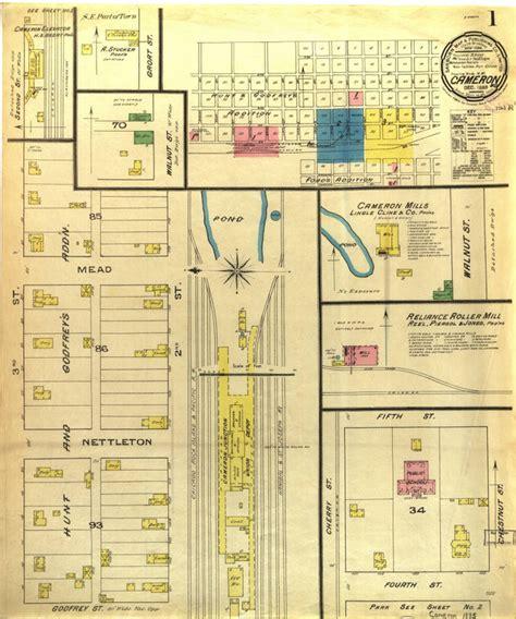 downtown maps cameron missouri history
