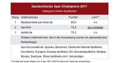 apotheke testsieger 2017 apotheke und versandapotheke medikamente per klick de