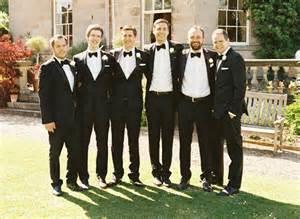 black wedding tux black tie uk wedding 100 layer cake