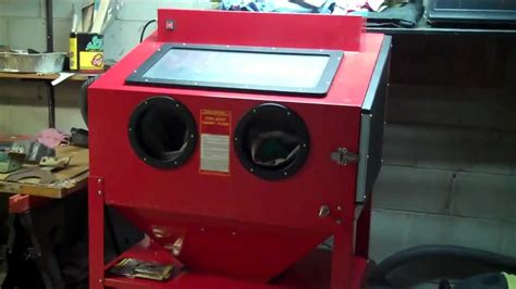 harbor freight sand blast cabinet modifications central pneumatic sandblaster cabinet parts mf cabinets