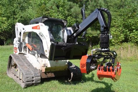 grapple  skid steer attachment  bobcat  timberland truck sales