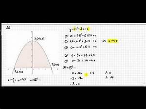 Fläche Unter Parabel Berechnen : 02b 6 fl che unter parabel halbieren integral doovi ~ Themetempest.com Abrechnung