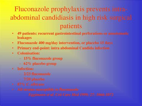 Ppt Is Azole Prophylaxis A Double Edged Sword