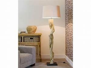 Lampe Chevet Bois Flotté : lampe chevet bois flotte ~ Teatrodelosmanantiales.com Idées de Décoration
