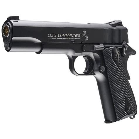 Umarex Colt Commander Blowback BB Gun   Golden Plaza