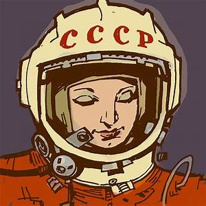 Drawings of Women Astronauts - Pics about space