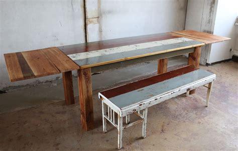 Tisch Aus Holzdielen by Tisch Aus Alten Berliner Dielen Und Dachbalken