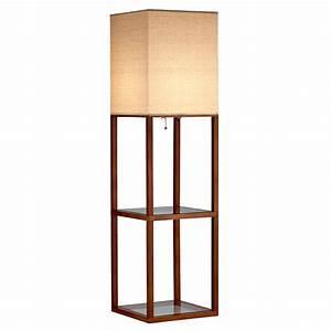 modern floor lamps cyrus shelf floor lamp eurway With shelf floor lamp india