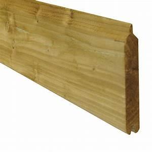Planche Bois Autoclave : lames en bois autoclave pour palissade idea bois nicolas ~ Premium-room.com Idées de Décoration