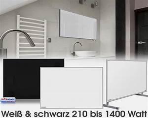 Standard Bilderrahmen Größen : standard infrarotheizungen glas wei oder schwarz emailliert in 10 gr en von 210 bis 1400 watt ~ Markanthonyermac.com Haus und Dekorationen