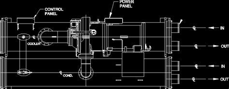 chiller  block dwg block  autocad designscad