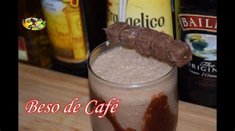 coctel beso de cafe baileys toque  sazon cocteles