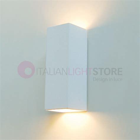 rectangular paintable ceramic plaster wall washer