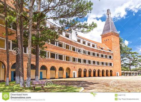 Pedagogical Colleges Dalat With Beautiful Old Architecture