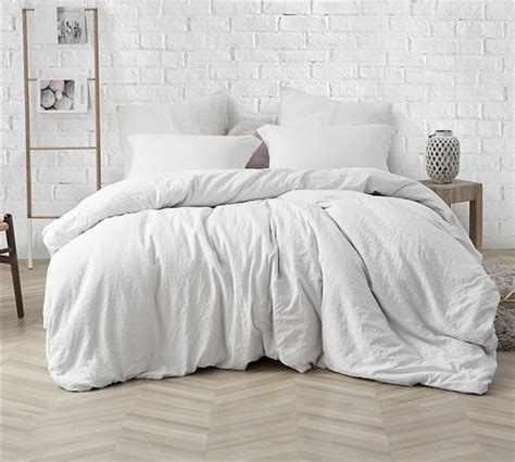 natural loft queen comforter farmhouse white