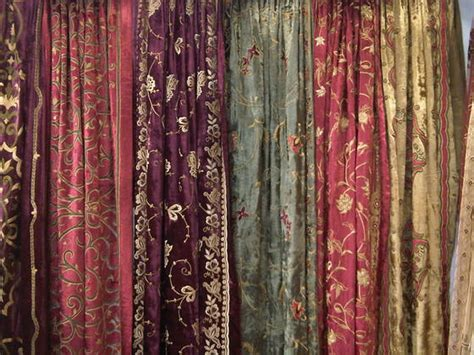 sell silk velvet curtains id 18190715 from sarla antiques