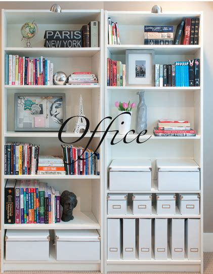 Bookcase Storage Ideas by My Home Office Makeover Storage Storage And