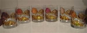 Verre à Punch : verres ti 39 punch ou whisky peinture p b o vitrail cr ation art de la table de panttiti n ~ Teatrodelosmanantiales.com Idées de Décoration