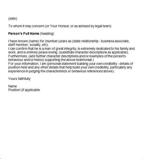 sample reference letter   documents  word