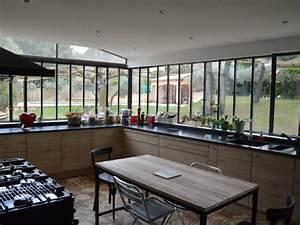 Verriere Pour Cuisine : une verri re l 39 ancienne pour une cuisine dans un jardin ~ Premium-room.com Idées de Décoration