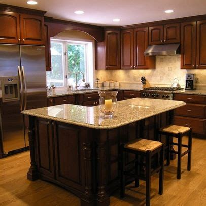 l shaped kitchen island designs with seating best 25 l shaped island kitchen ideas on 9871