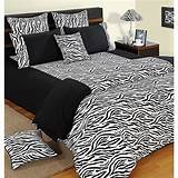 Zebra print bedding black bbw