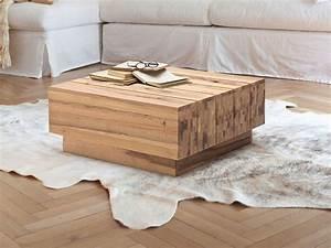 Möbel De Couchtisch : hometrends4you 249822 couchtisch 65 x 35 x 65 cm ausf hrung wildeiche massiv ge lt smash ~ Whattoseeinmadrid.com Haus und Dekorationen